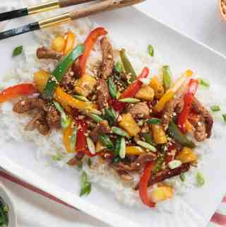 Pork + Pineapple Stir Fry