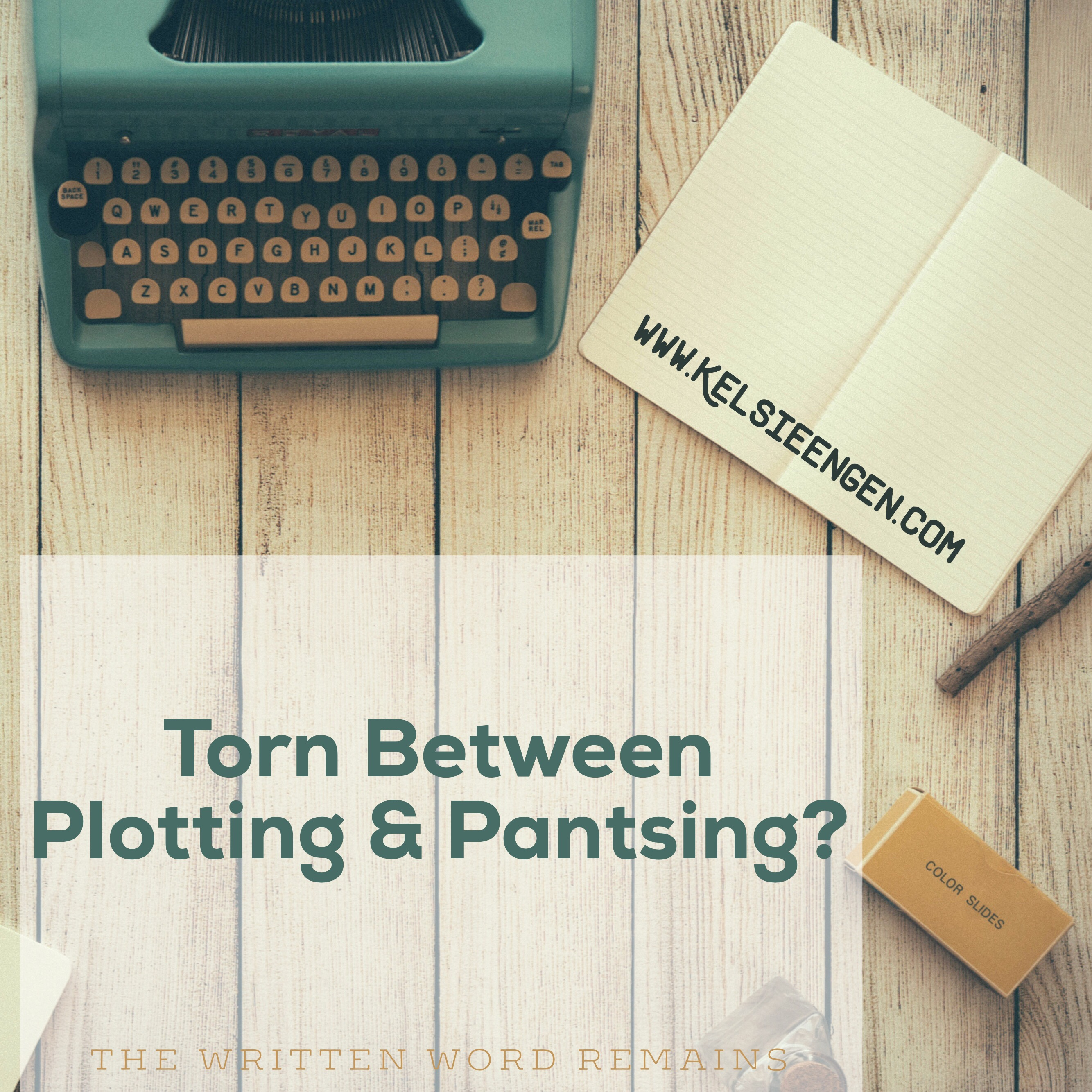 Guest Post: Torn Between Plotting & Pantsing?