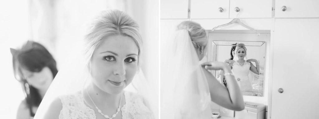 brighton wedding photographer bride with veil