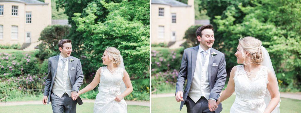 Quarry Bank Mill bride and groom portraits - Brighton wedding photographer