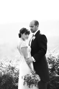 brighton wedding photographer bride and groom on south downs near new forest