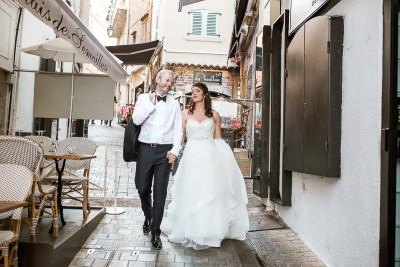 Cannes Old Town Destination Wedding Photography
