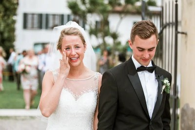 Fossa Mala Destination Wedding Ceremony Photography