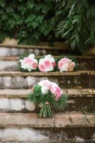 Fossa Mala Wedding Bouquet with Grass