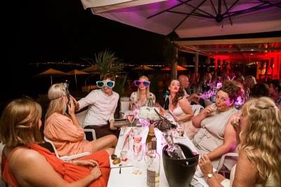 La Mairie Restaurant in Cannes Wedding Reception Photography