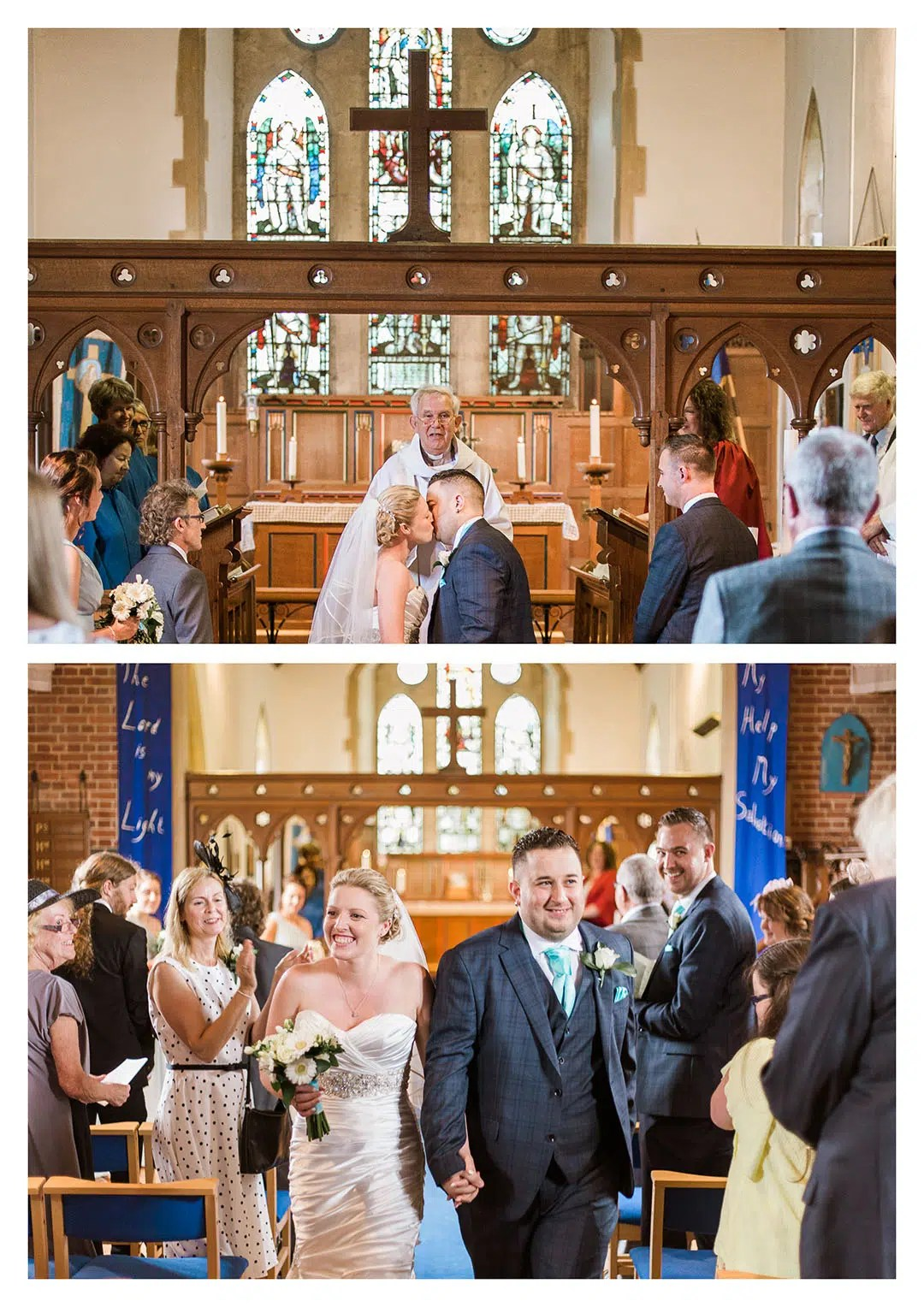 St Michaels Church Ceremony in Partridge Green Wedding Photography