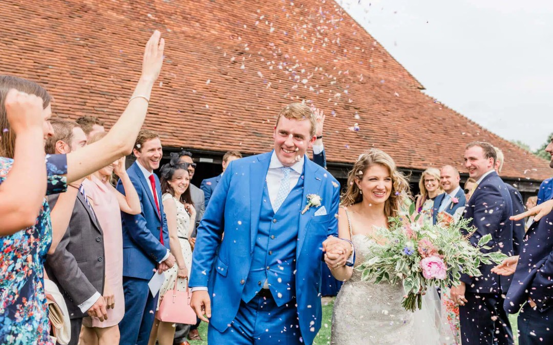 Summer wedding at Michelham Priory's Barn in Hailsham | East Sussex Wedding Photographer