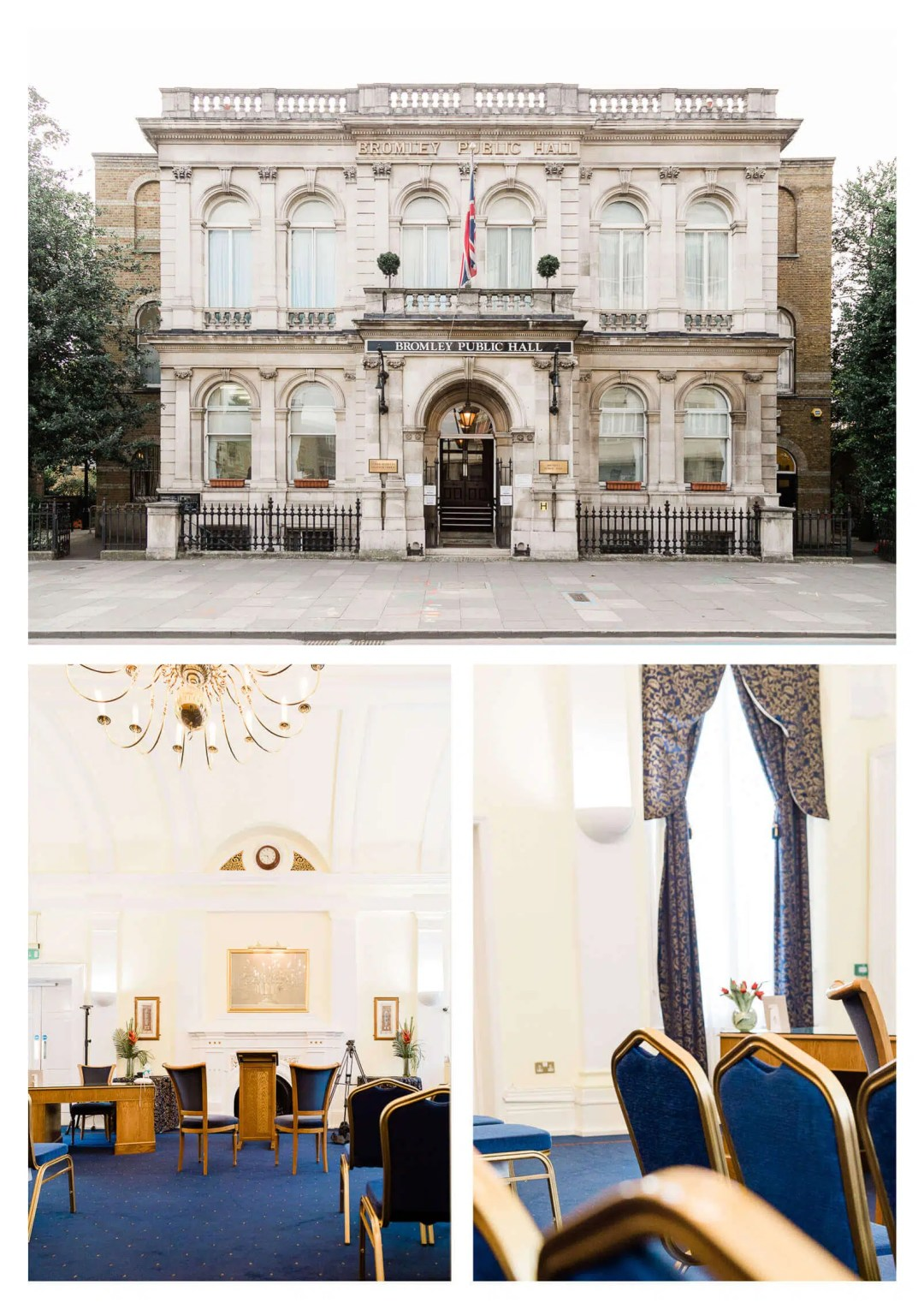 Bromley Public Hall Registry Ceremony | London wedding photographer