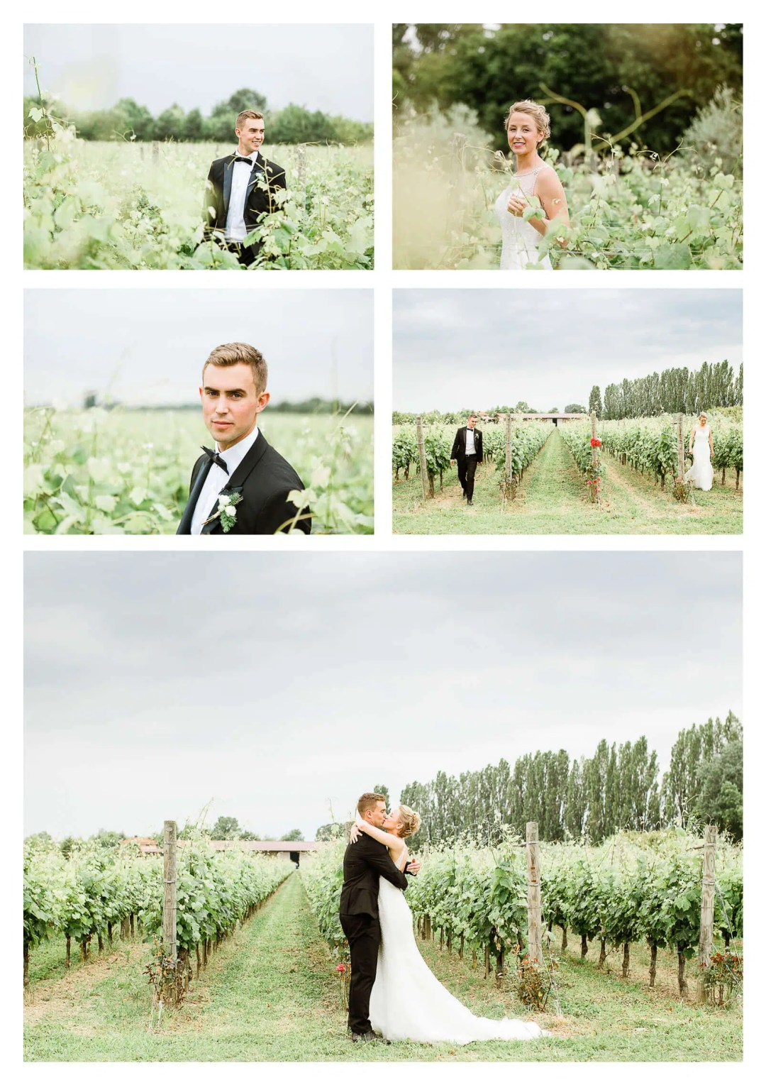 Unique first look in vineyard at Fossa Mala Italy | Pordenone photographer