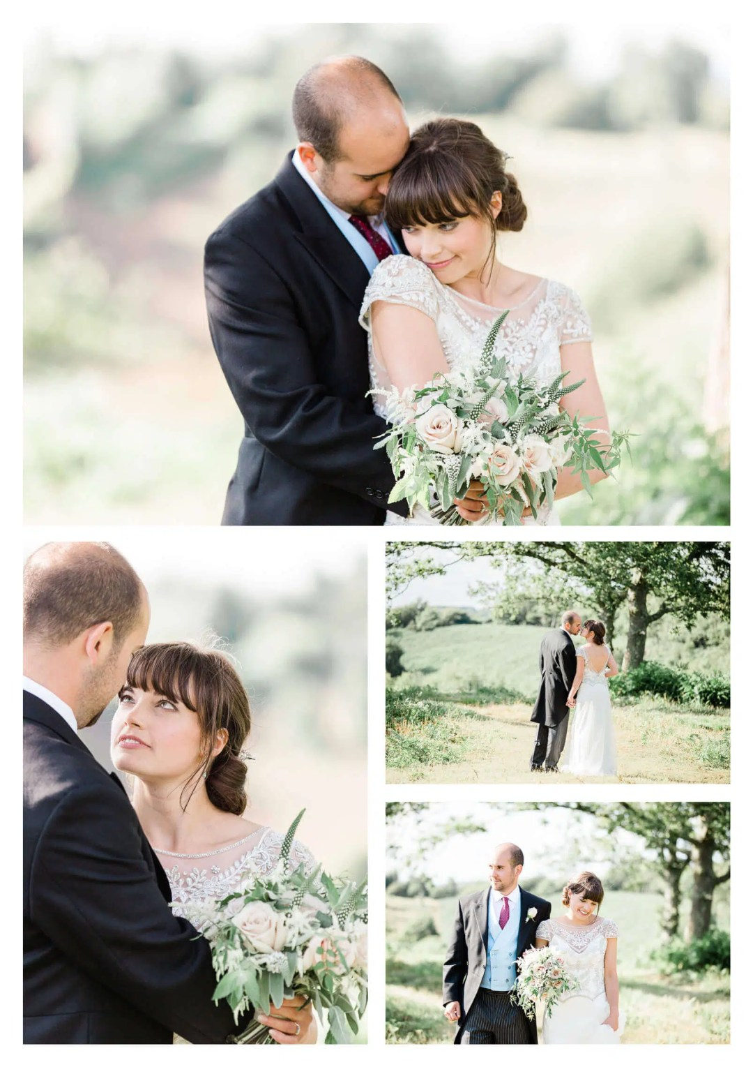 South Downs wedding couple portraits | Midhurst marquee estate wedding photographer