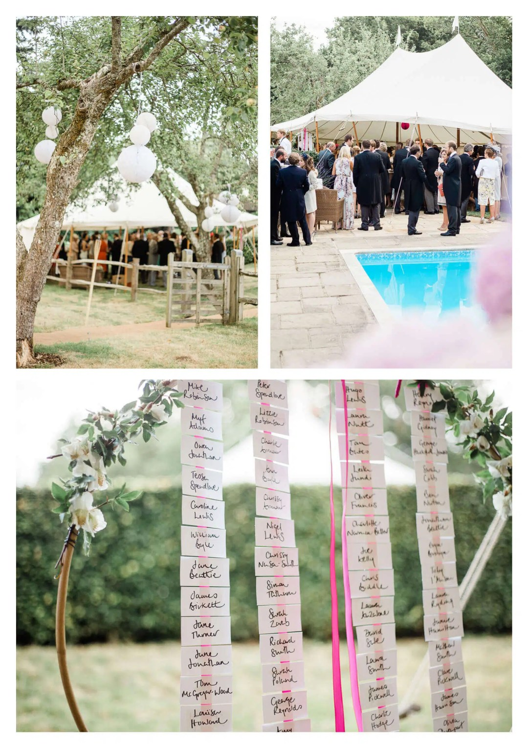 Private Midhurst marquee estate wedding in Woolbeding   West Sussex photographer