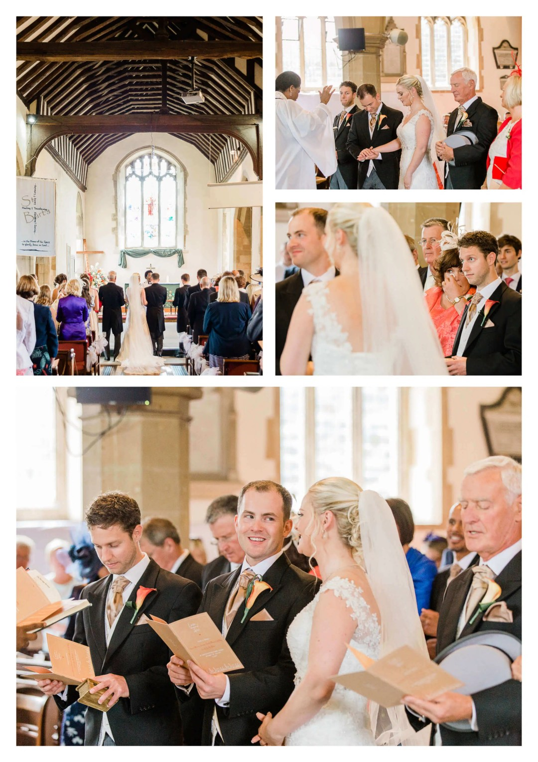 St Bartholomew's Church wedding ceremony in Horley | Surrey Photographer