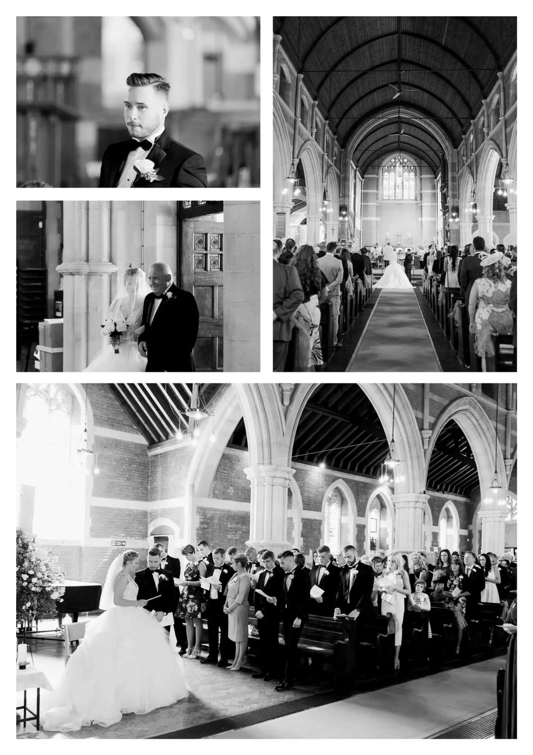St Marks Church wedding ceremony | London wedding photographer