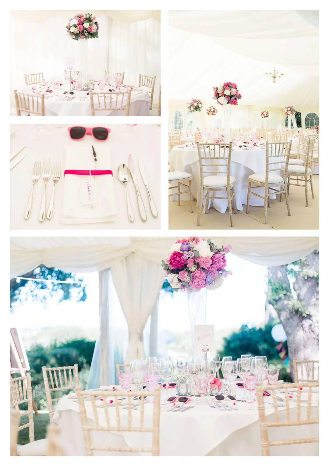 West Sussex marquee private hire decor | West Itchenor wedding photographer-
