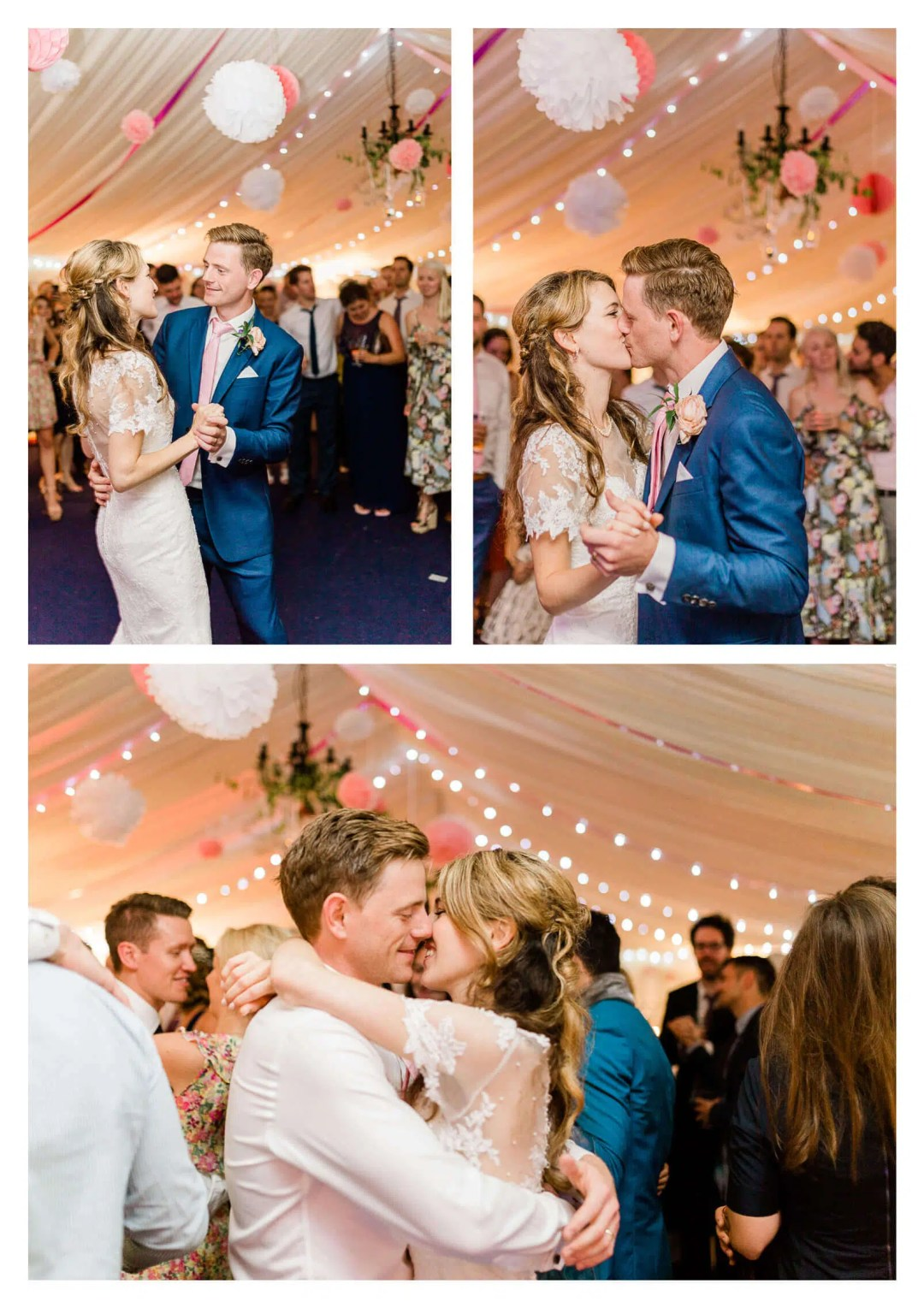 First dance in Lewes marquee | Anchor Inn wedding photographer