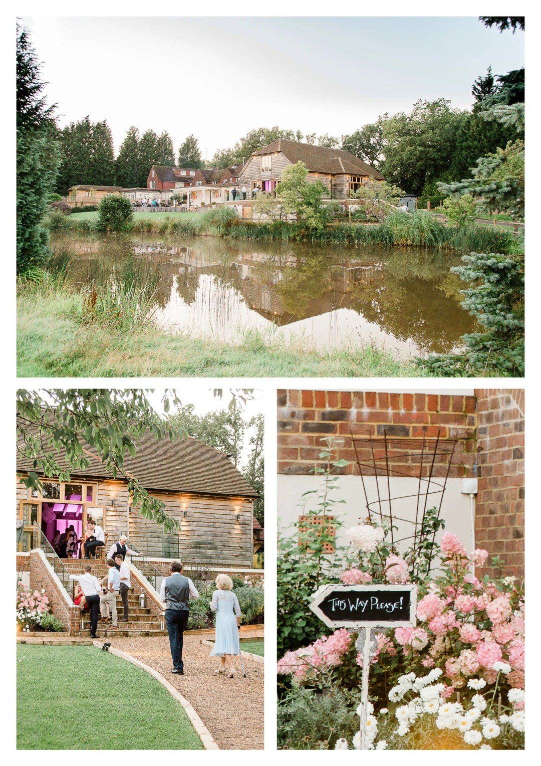 Brookfield Barn wedding venue photography in Horsham