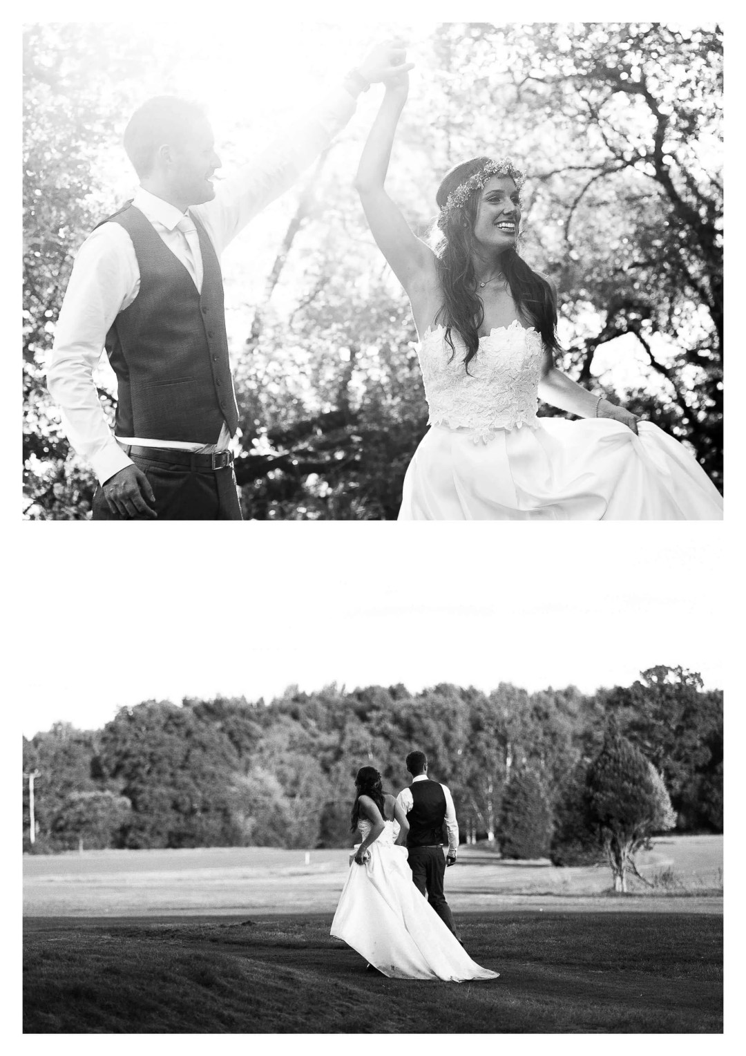 Golf course Brookfield Barn wedding photography | Horsham Photographer