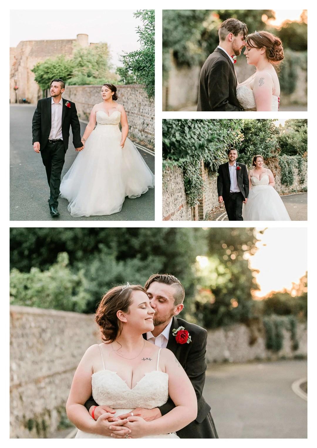 Lewes Castle Wedding Couple Portraits | Brighton Photographer