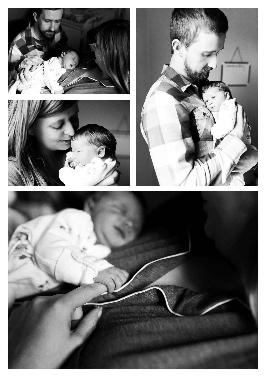 Brighton Newborn Photography at Princess Royal Hospital in Haywards Heath