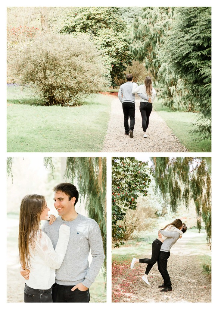 Sheffield Park Uckfield Engagement Photographer in Brighton