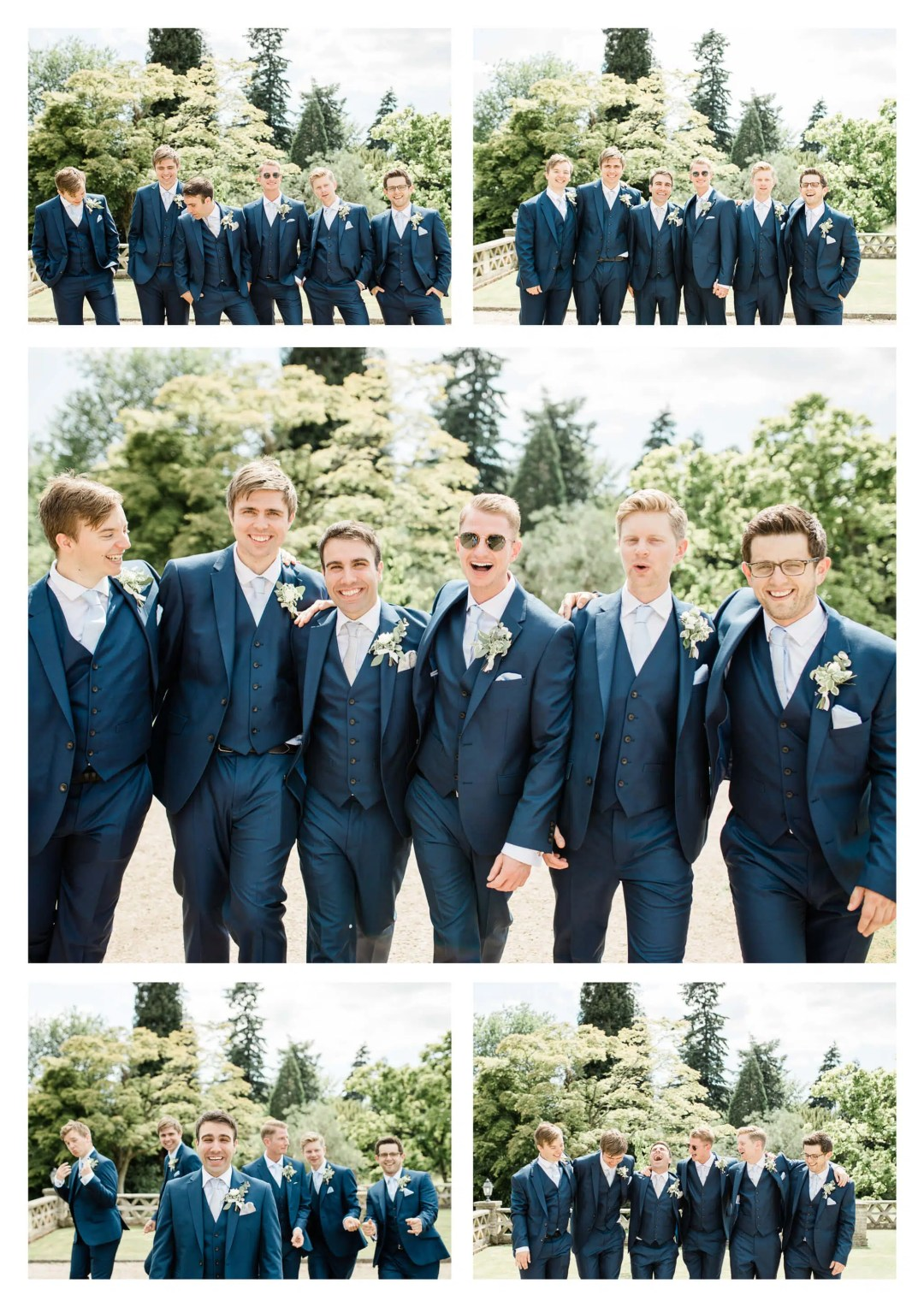 Buxted Park Hotel Groom and Ushers | Wedding Photographer in Uckfield