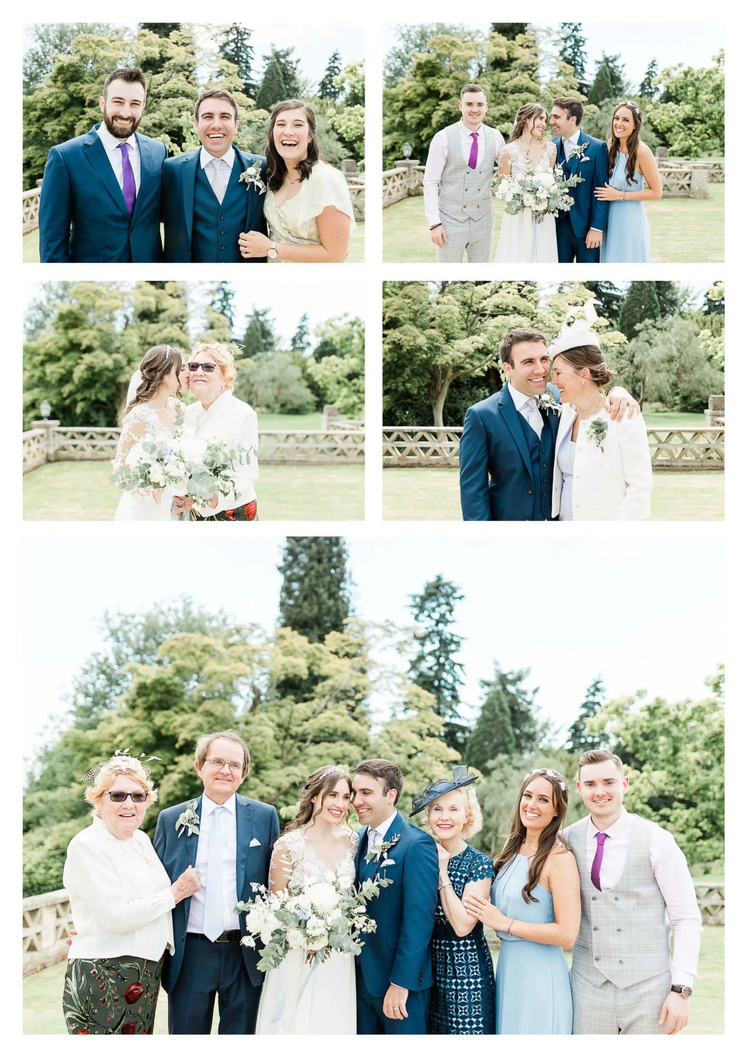 Family portraits at Buxted Park Hotel wedding | Uckfield photographer