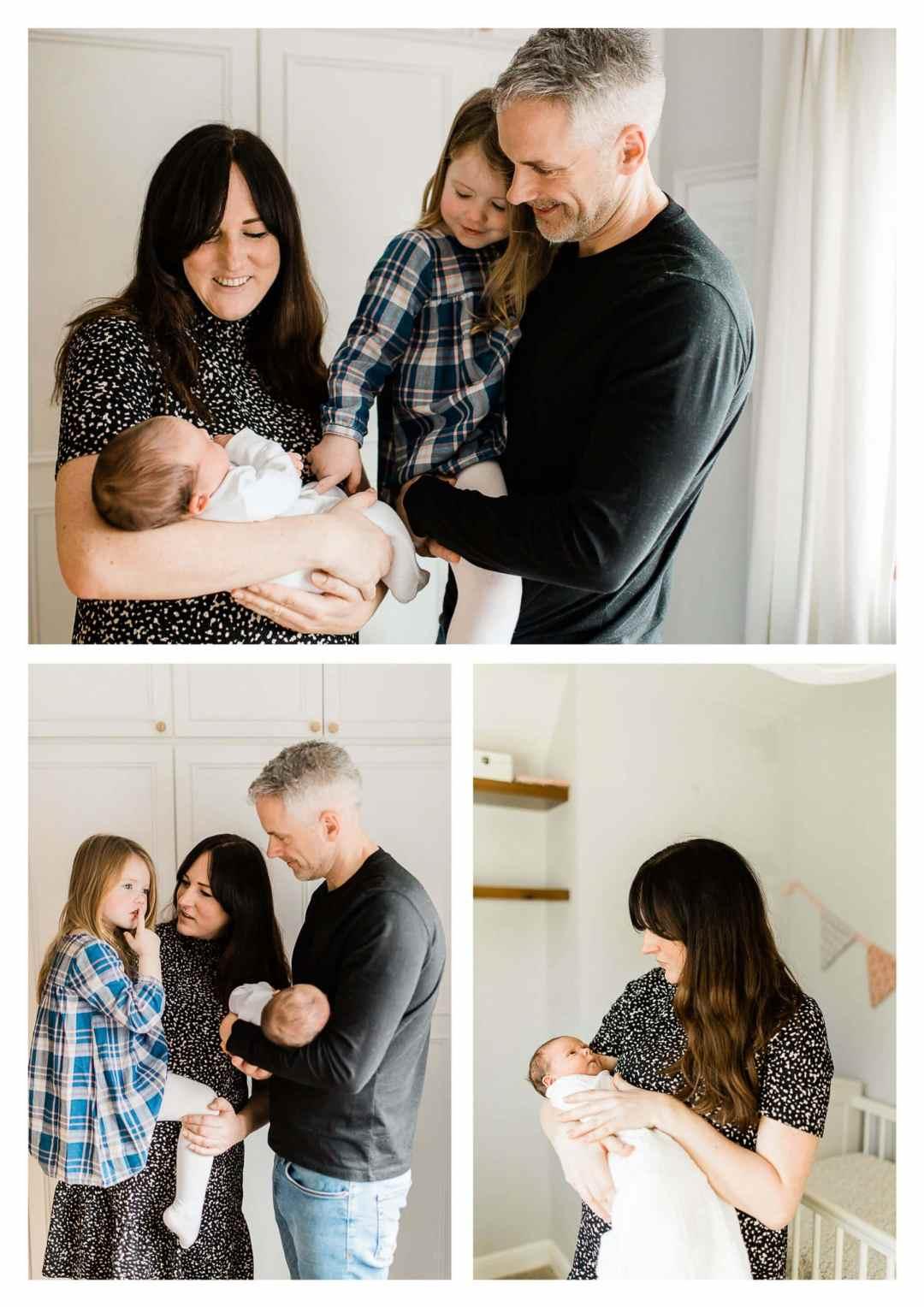 Hassocks newborn lifestyle family photography with Brighton Photographer
