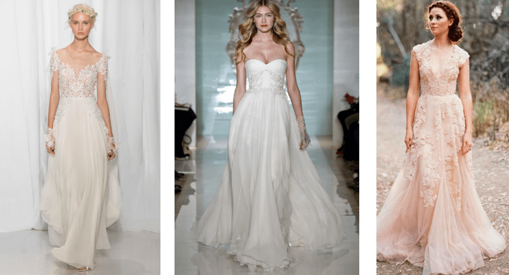 wedding dress shopping reem acra