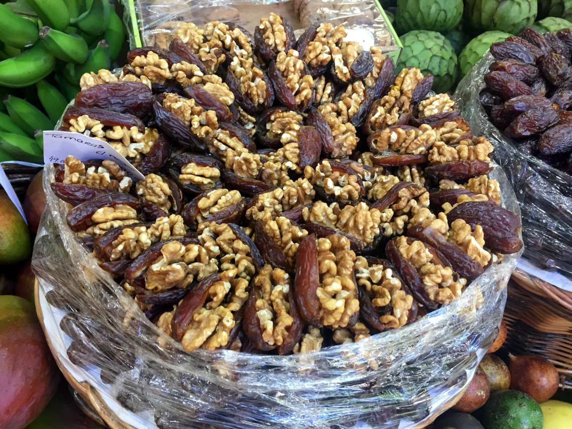 figs and walnuts