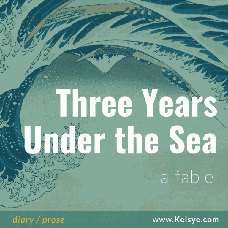 _Kblog 3 years under the sea square