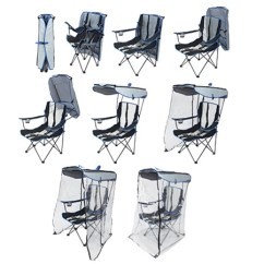 Folding Chair Enclosure Cute Desk Chairs Target Original Canopy With Weather Shield Kelsyus Camp