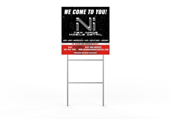 Square Yard Signs Keltech Designs Creative Agency