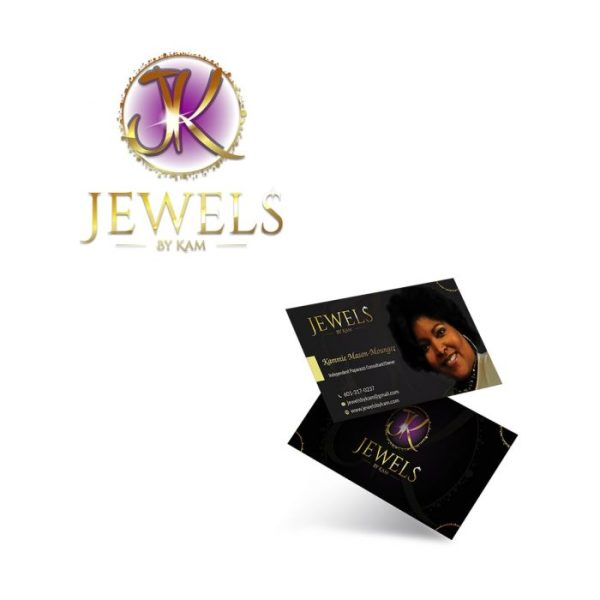 Logo Design and Business Cards Jewels By Kam By Keltech Designs Arkansas