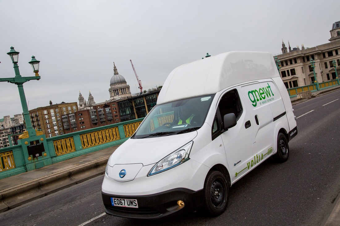 Greener delivery with electric vehicles