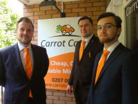 Carrot Cars Give their Uniform a Lift with Our Customised Ties