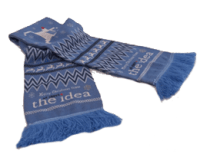 Custom Knitted Scarves for Clubs & Businesses