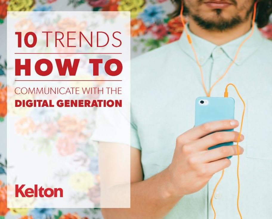 10 Trends Millennials and Digital Generation ebook