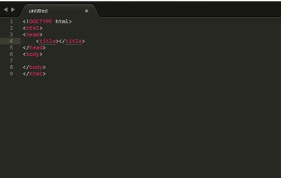 Panduan Memakai Sublime Text Untuk Membuat Website Pada Platform Windows
