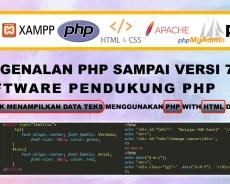 Learning PHP Part 1 – Belajar Web dengan PHP dan HTML | CSS
