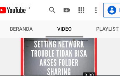 Setting Network di Windows – Folder Share Tidak Bisa di Akses dari Komputer Client