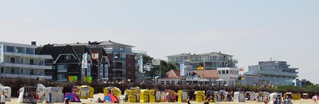 Pelesir di Pantai Cuxhaven