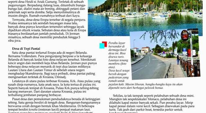 Desa Paling Berkesan di Eropa