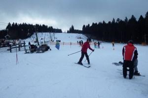 belajar ski