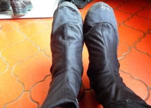 pelindung hujan sepatu