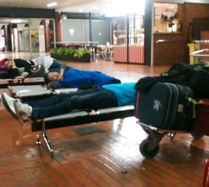 Menginap di Bandara Cengkareng