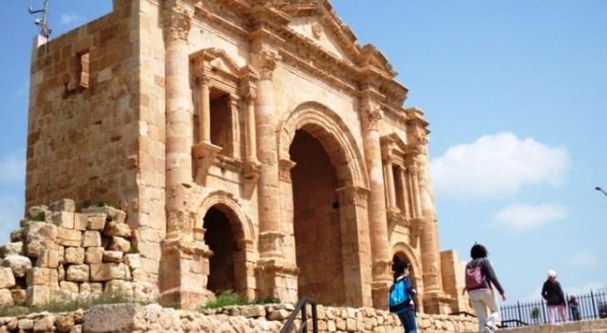 Kota Ratusan Pilar Jerash