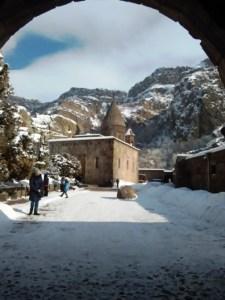 Gereja dalam tanah di Armenia