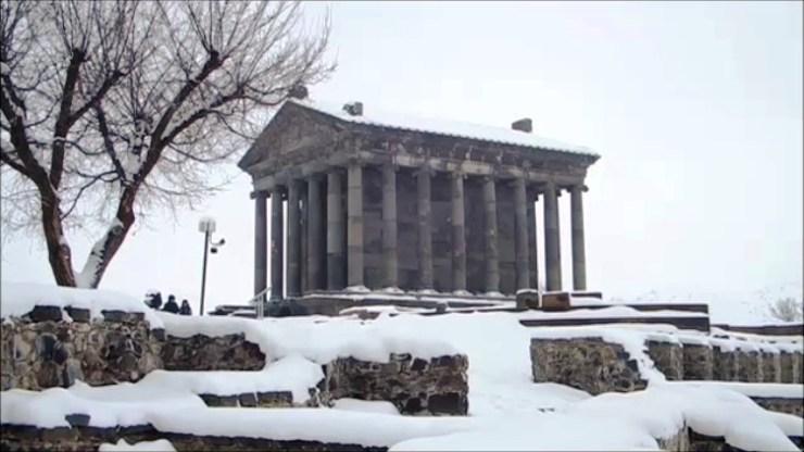 Grani pagan temple Armenia