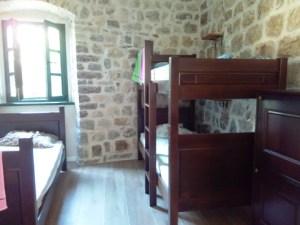 Interior old town hostel