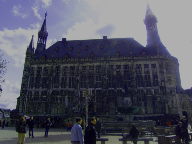 Aachen town hall Charlemagne